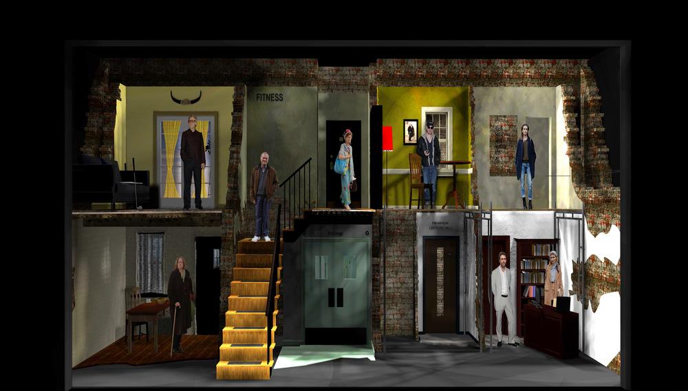 Set design for film and theatre caterina da vi for Movie set design