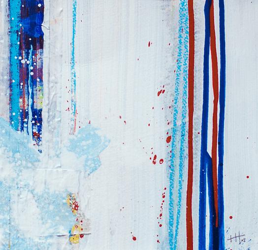 'Serendipity' Acrylic /41cm x 41cm (framed) SOLD