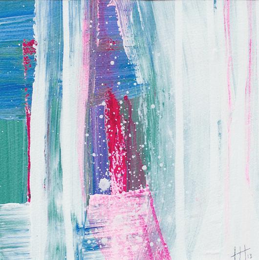 'Luminous' Acrylic /41cm x 41cm (framed) SOLD
