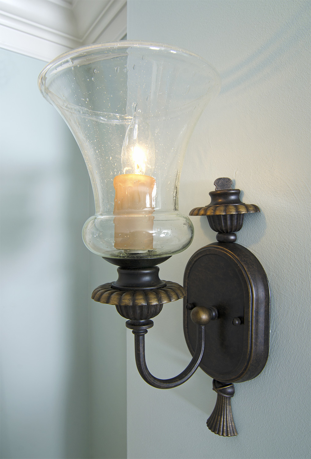 Dining Room Sconce - After