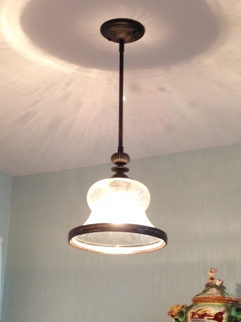 Kitchen Pendant After