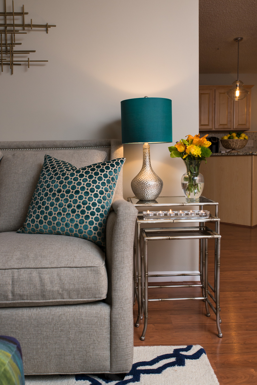 Artful Interiors Glam Living Room Nesting Table