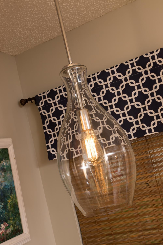 Artful Interiors Kitchen Glass Pendant