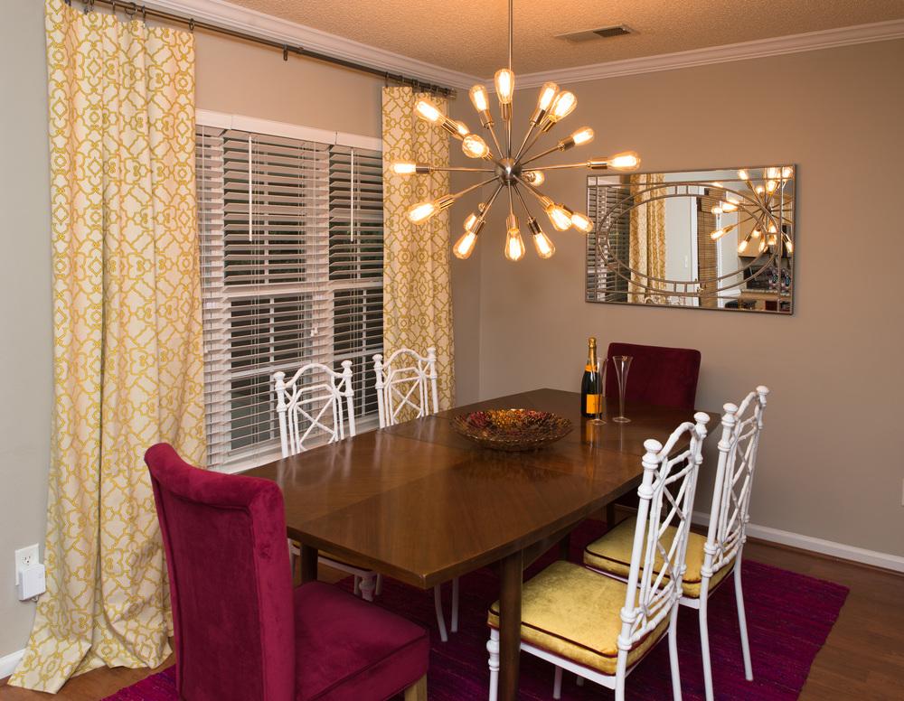 Artful Interiors Glam Dining Room 2