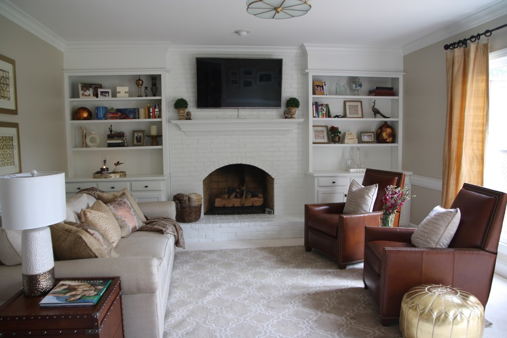 Artful Interiors Global Living Room