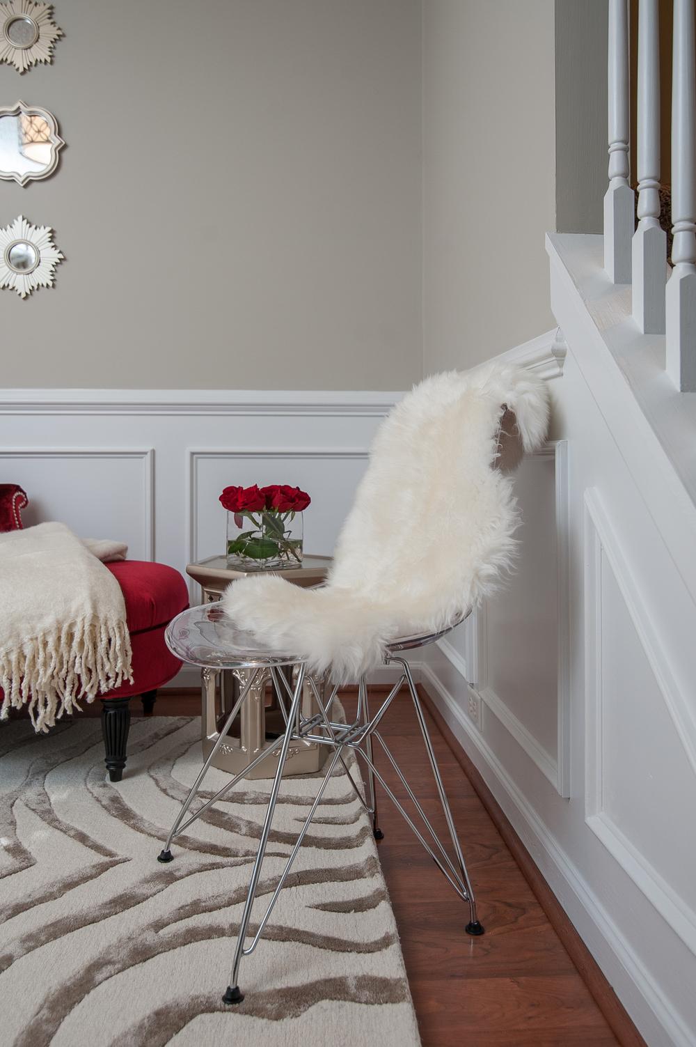 Artful Interiors - Modern Office - Ghost Chair