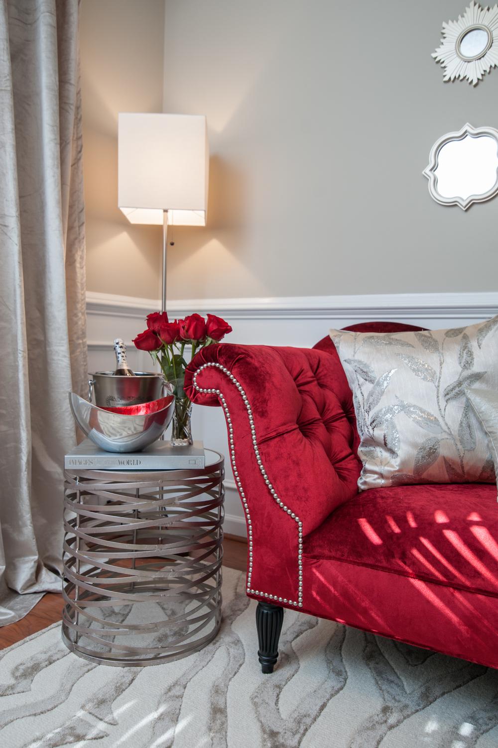 Artful Interiors - Modern Office - Chaise Lounge