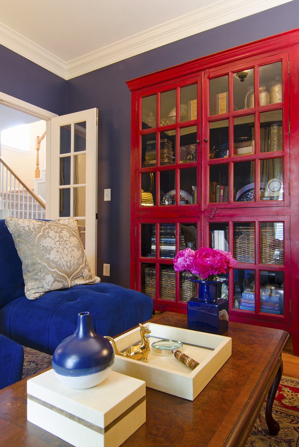Artful Interiors – First Home - Library - Bookcase