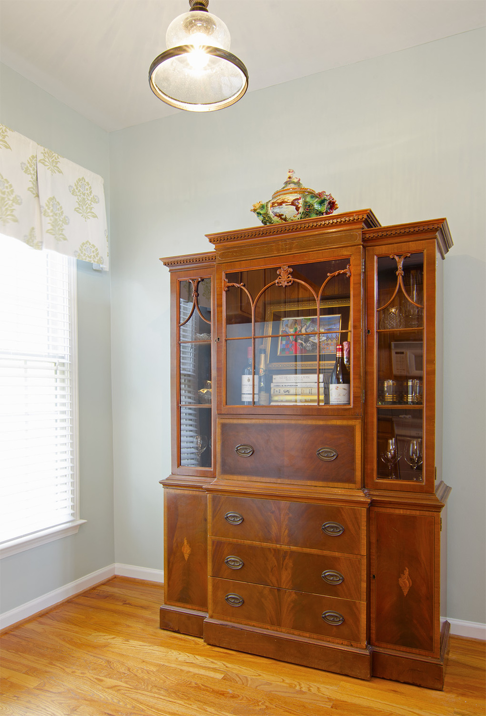 Artful Interiors – First Home - Kitchen China Cabinet