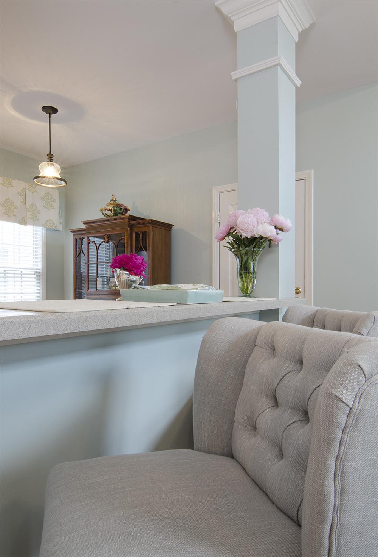 Artful Interiors – First Home - Kitchen - Bar Stools