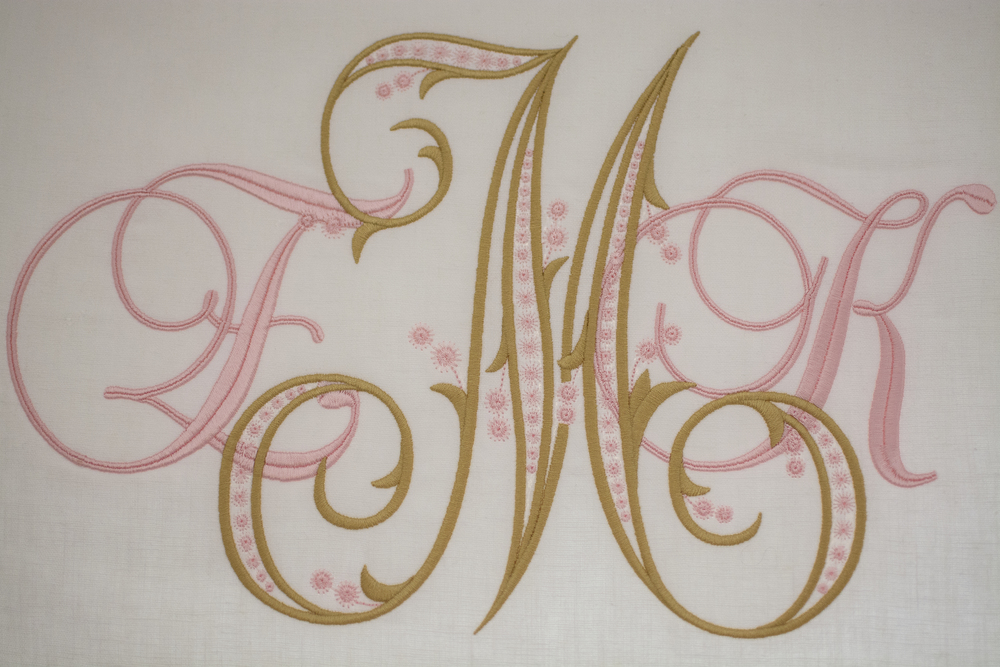 Artful Interiors - Nursery - Monogram Detail
