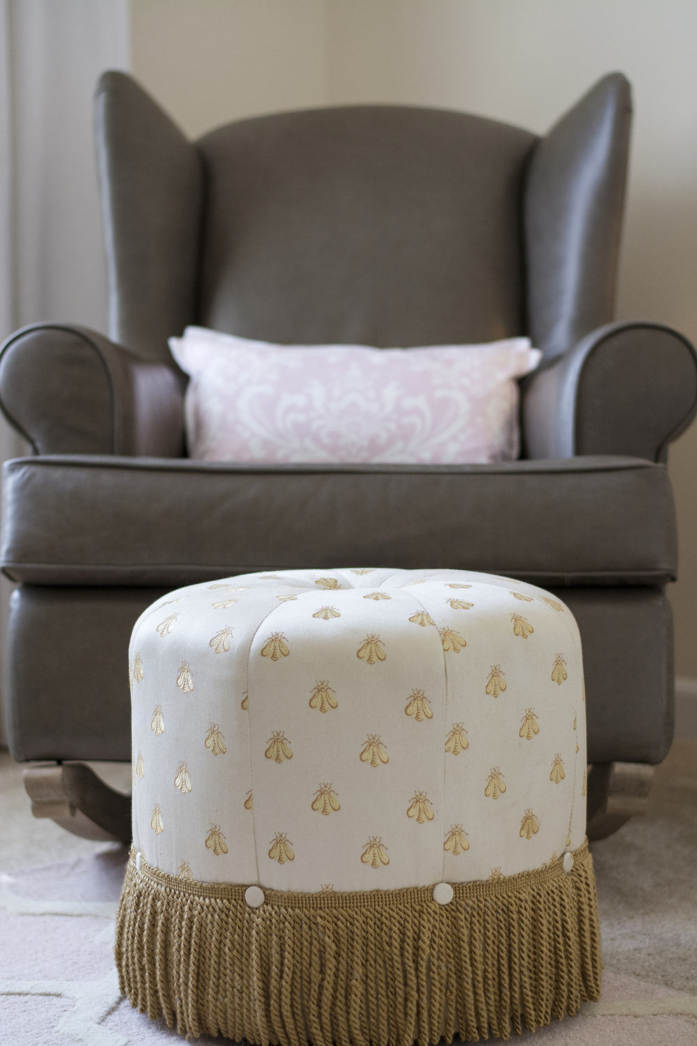 Artful Interiors - Nursery - Rocker and Ottoman