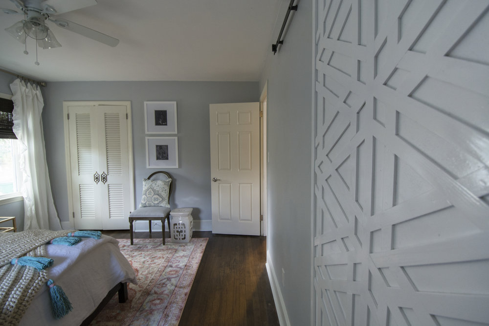 Artful Interiors - Bohemian Bedroom - Custom Door