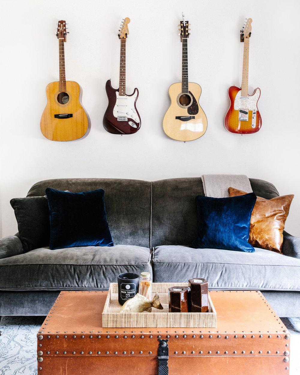 Bachelor Pad Guitar Display