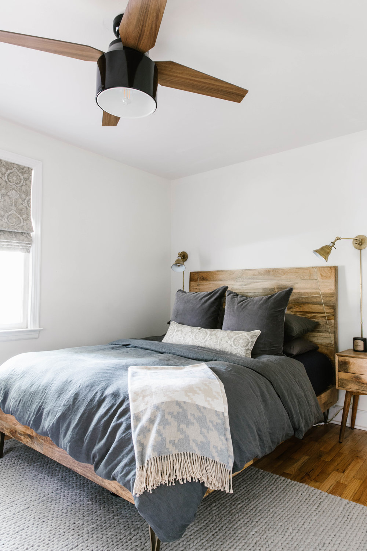 Bachelor Pad Master Bedroom