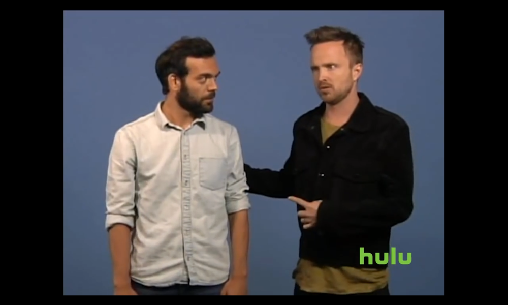AARON PAUL´s buddy