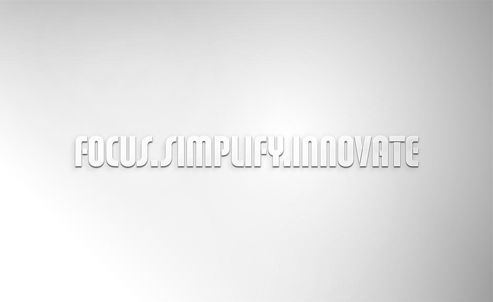 focus.simplify.innovate