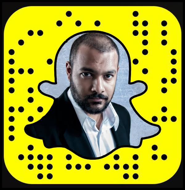Follow on Snapchat @RajivSankarlall