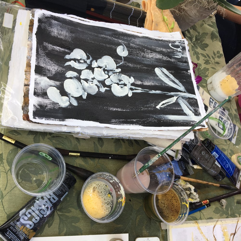 BW painting orchids.jpg