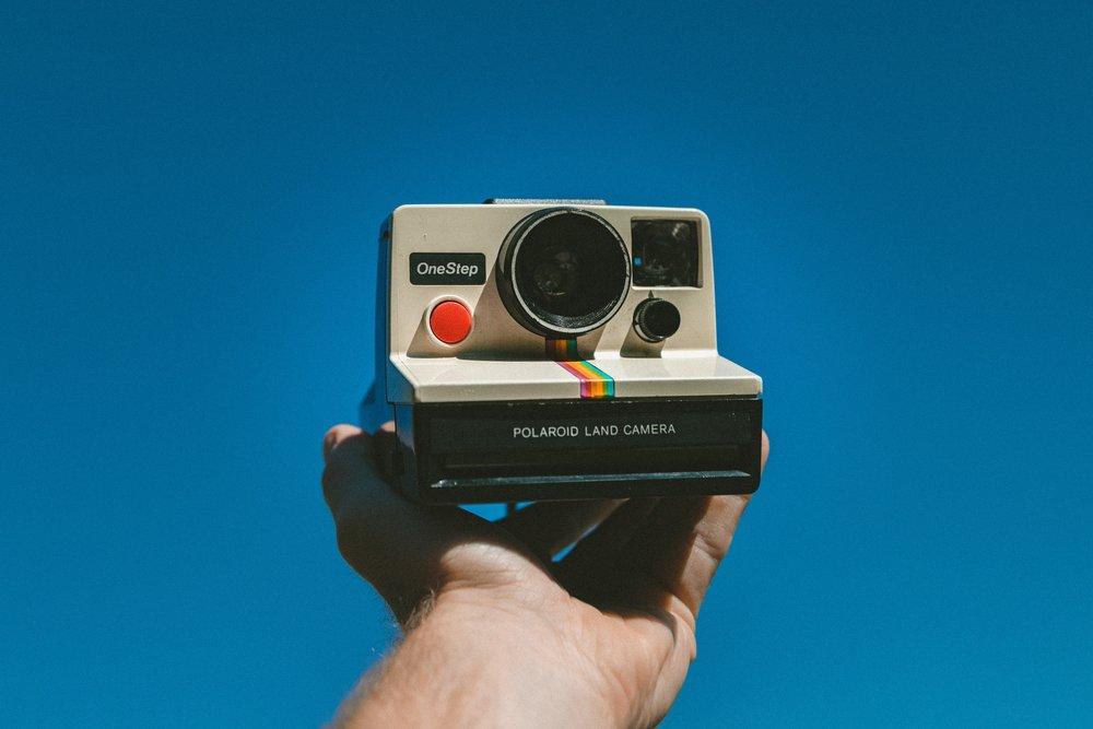 Polaroid Instant One Step Camera