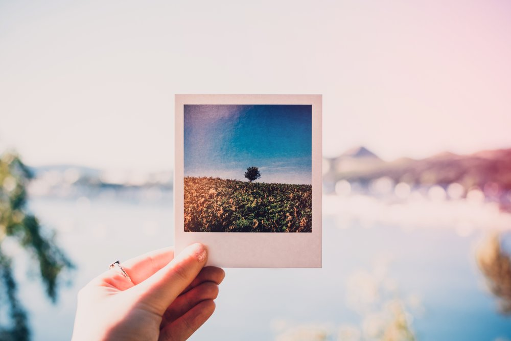 Polaroid Camera Photo