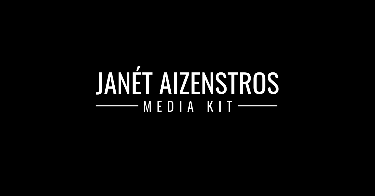 Janét Aizenstros Media Kit | Legacy & History-Making Entrepreneur |