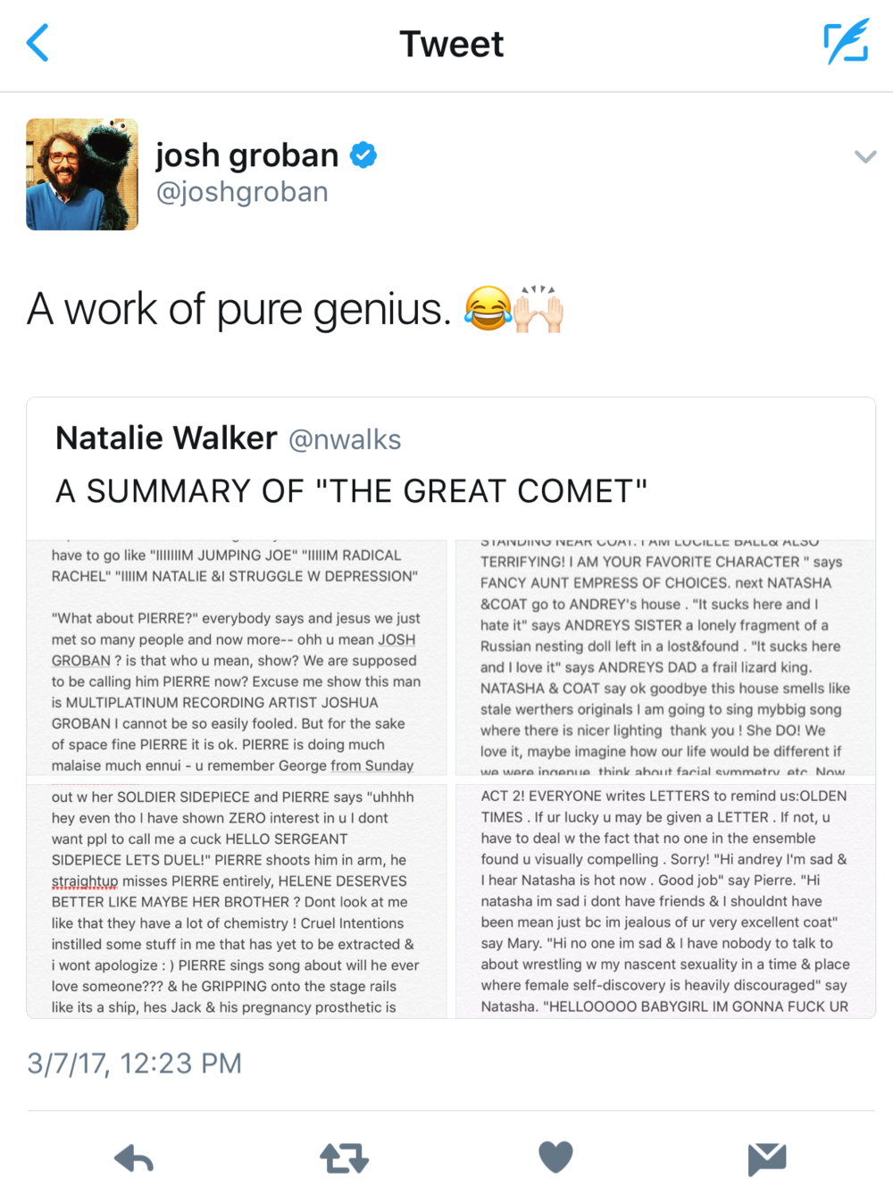 ^^^^JOSH GROBAN FUCKING  GETS IT  OK