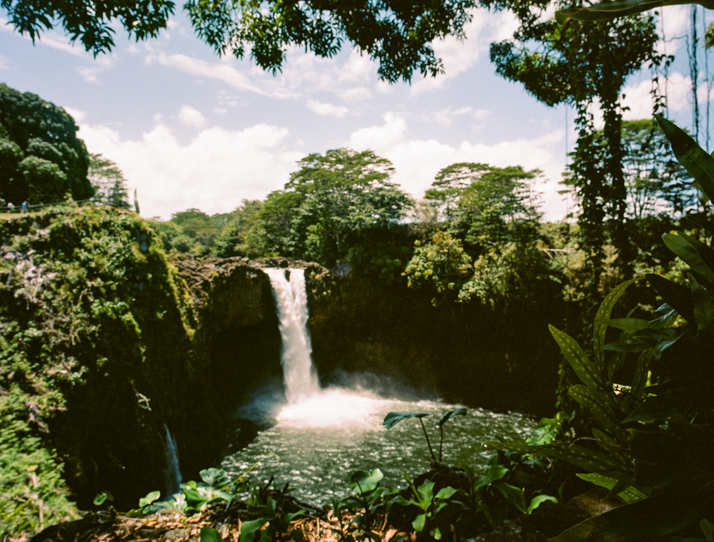 Rainbow Falls, near downtown Hilo