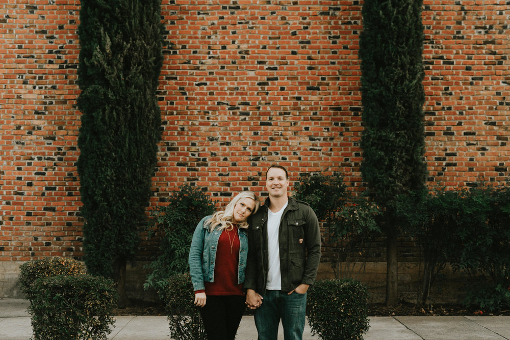 Nick and Dara Blog - Urban Engagement - Downtown Chico Engagement-35.jpg