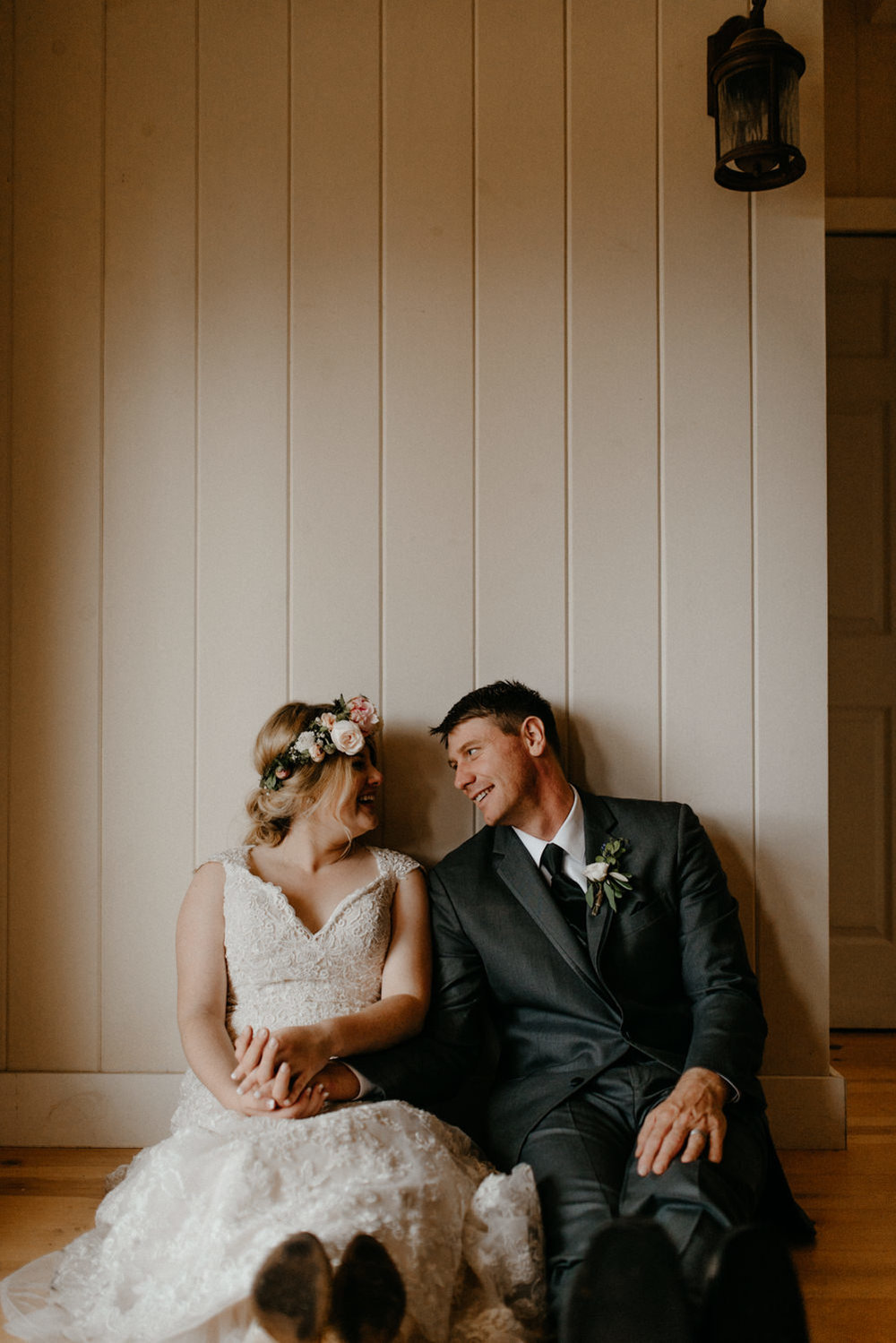 Newlyweds inside on rainy wedding day-6.jpg