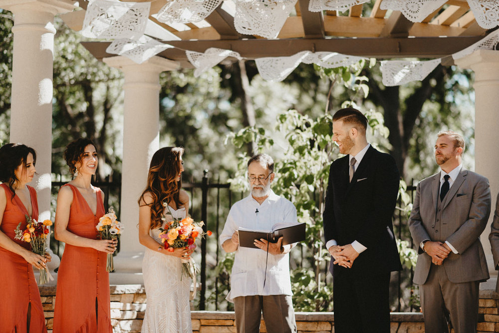 bidwell park wedding ceremony