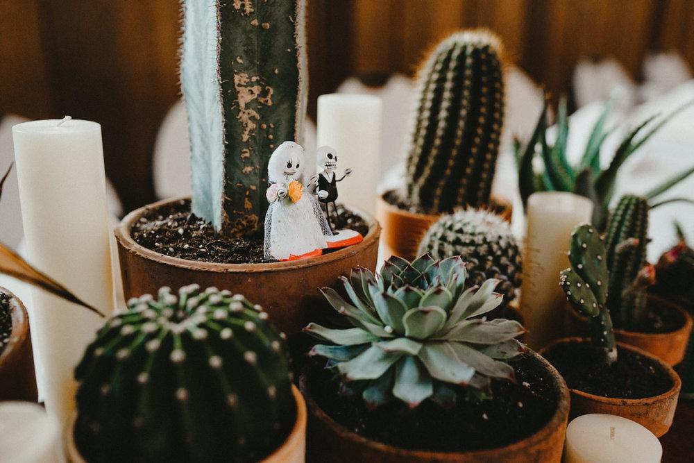 Dia De Los Muertos wedding details