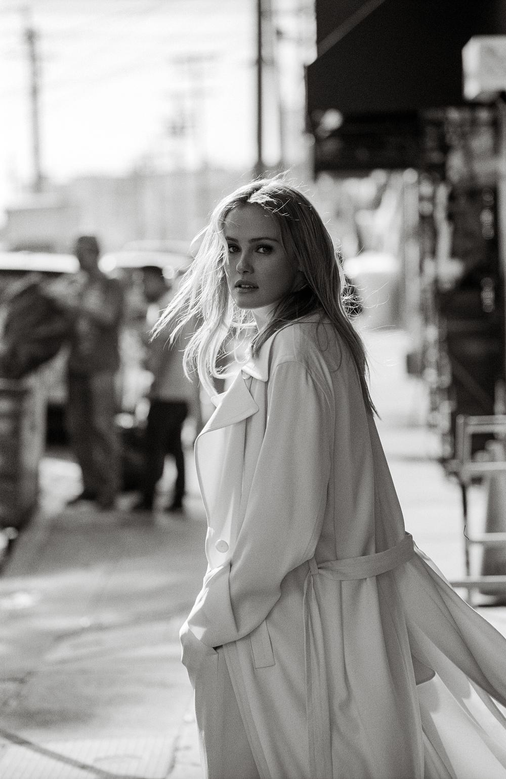 Coat by   DKNY  .