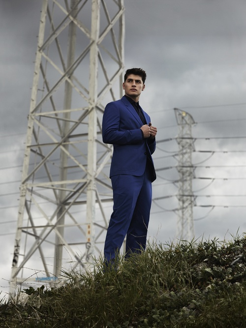 Suit by MARC by MARC JACOBS, Shirt by RALPH LAUREN DENIM.