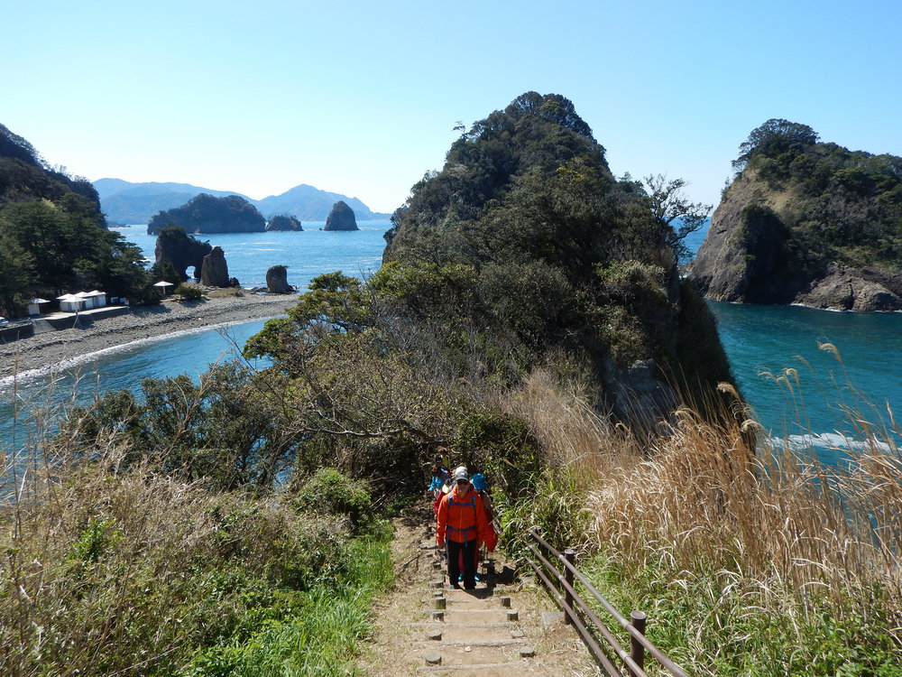 Izu Geo Trail coastal walk