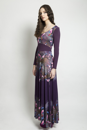 Aubergine+Hummingbird+Signature+Combo+Jersey+Dress+Long.jpg