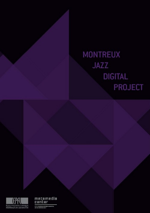 Montreux Jazz Digital Project - 2013 Brochure  PDF