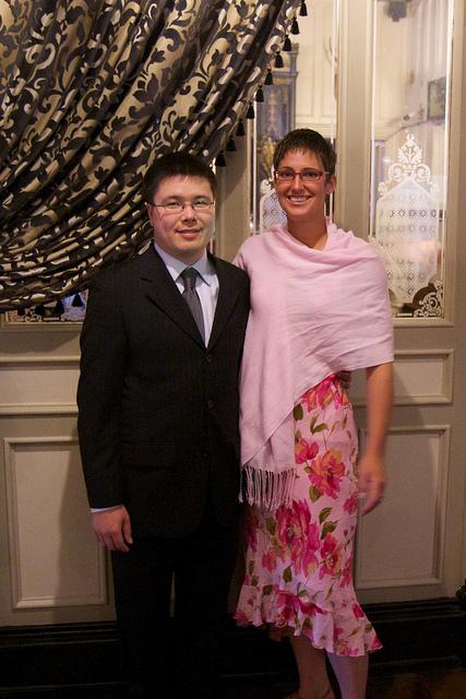 At Diarmuid's Wedding