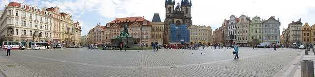 Old Town Square Pano