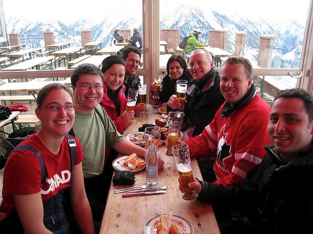 Our Ski Party