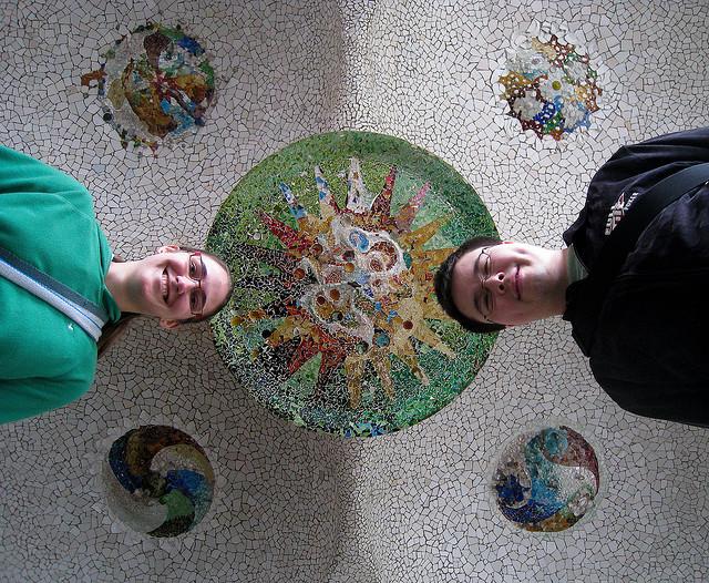 Gaudí Mosaic Roof
