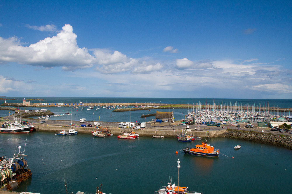 Looking Over Howth