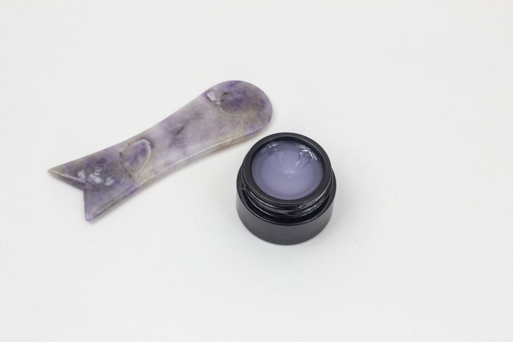 ametyst hudproblemer healing