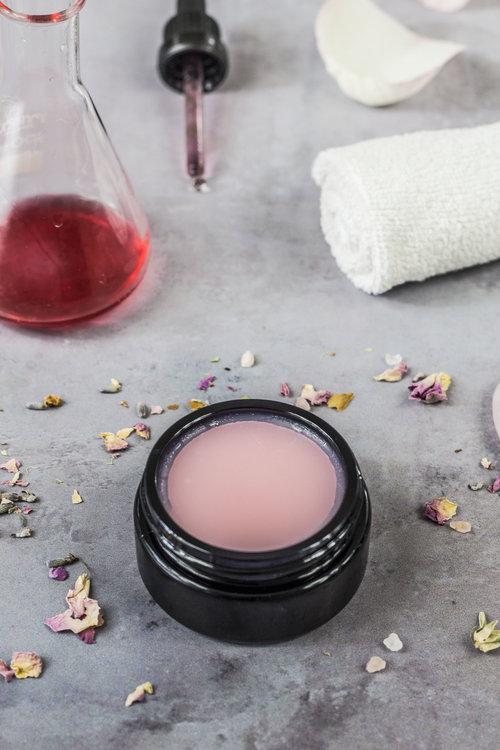 self love in a jar good stuff scent recipe pink face balm recipe