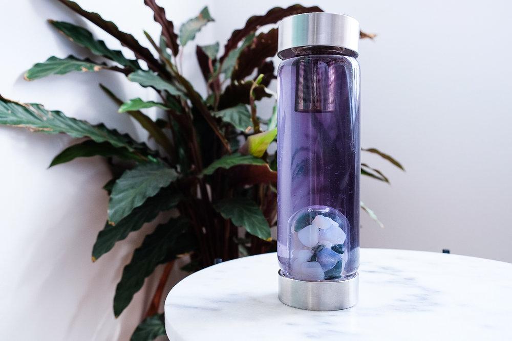 luna tea infusion for vitajuwel luna momentum water bottle black goji berry tea blue tea purple tea pink tea jasmine white pearl tea