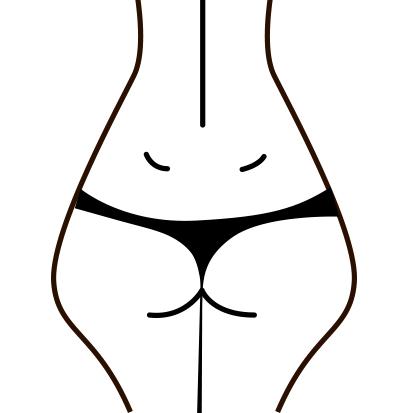 "Cellulite type 4 - ""Fastlåst"""