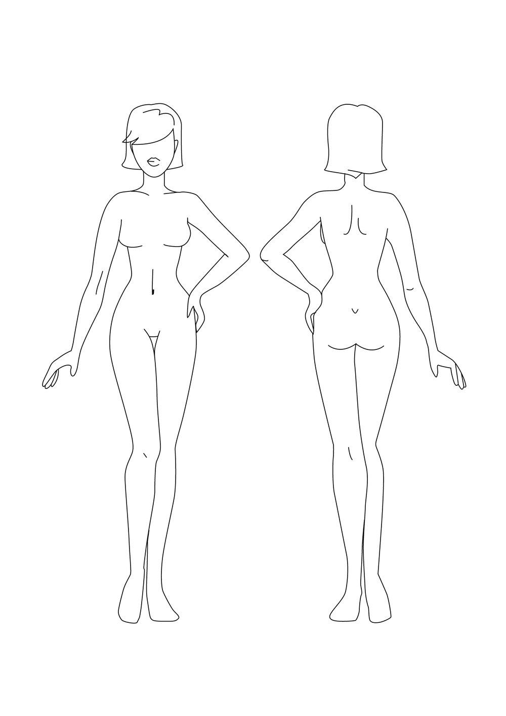 måleskema cellulite type