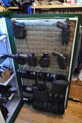 MOLLE Gun Safe Door Organizer