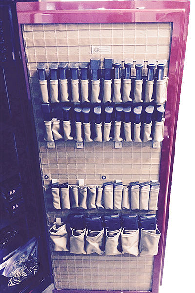 Gun Safe Fireproof Panels : Molle gun safe door panel organizer magazine pouches