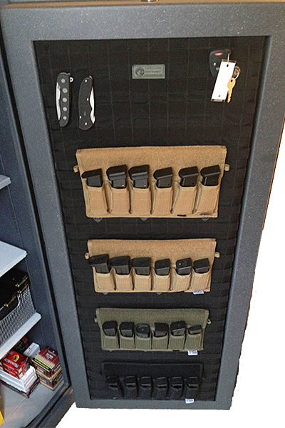 MOLLE Gun Safe Door Panel Organizer & MOLLE Gun Safe Door Panel Organizer u2014 Wilde Custom Gear | Tactical ...